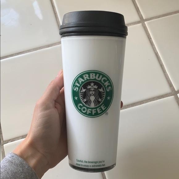 Starbucks tumbler (16oz) for hot/cold beverages